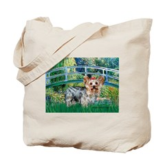 Bridge / Yorkie (T) Tote Bag