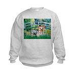 Bridge / Yorkie (T) Kids Sweatshirt