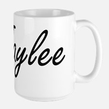 Jaylee artistic Name Design Mugs