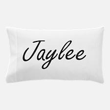 Jaylee artistic Name Design Pillow Case