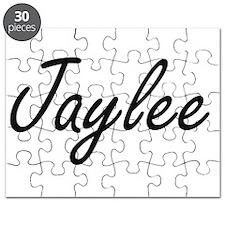 Jaylee artistic Name Design Puzzle