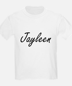 Jayleen artistic Name Design T-Shirt