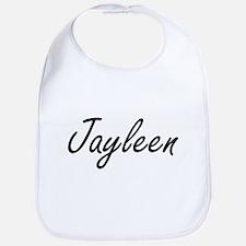 Jayleen artistic Name Design Bib