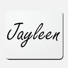 Jayleen artistic Name Design Mousepad