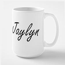 Jaylyn artistic Name Design Mugs