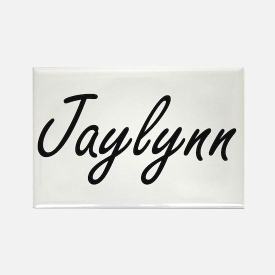 Jaylynn artistic Name Design Magnets