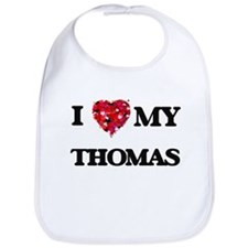 I Love MY Thomas Bib