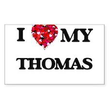 I Love MY Thomas Decal