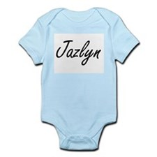 Jazlyn artistic Name Design Body Suit