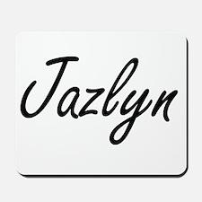Jazlyn artistic Name Design Mousepad