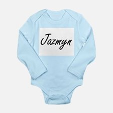 Jazmyn artistic Name Design Body Suit
