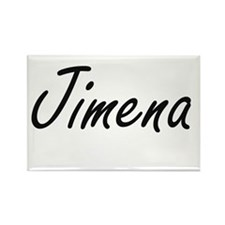Jimena artistic Name Design Magnets