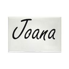 Joana artistic Name Design Magnets