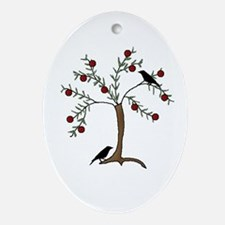 Tree of Life Oval Ornament