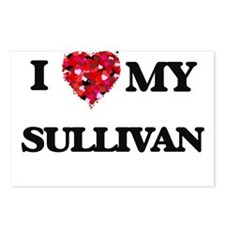 I Love MY Sullivan Postcards (Package of 8)
