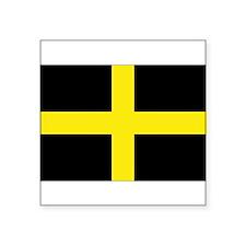 "Cute Northern ireland flag Square Sticker 3"" x 3"""