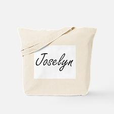 Joselyn artistic Name Design Tote Bag