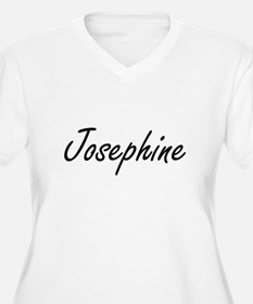 Josephine artistic Name Design Plus Size T-Shirt