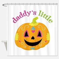 Daddy's Pumpkin Shower Curtain