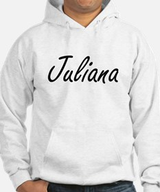 Juliana artistic Name Design Hoodie Sweatshirt