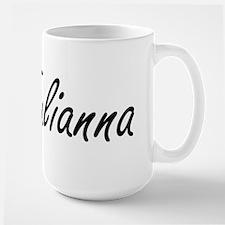 Julianna artistic Name Design Mugs