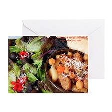 Pasta Shell Soup Recipe Card