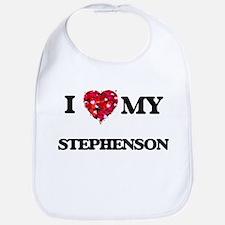 I Love MY Stephenson Bib