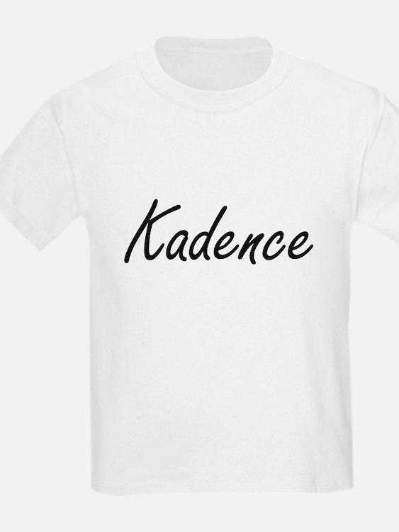 Kadence artistic Name Design T-Shirt