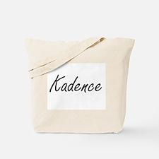 Kadence artistic Name Design Tote Bag
