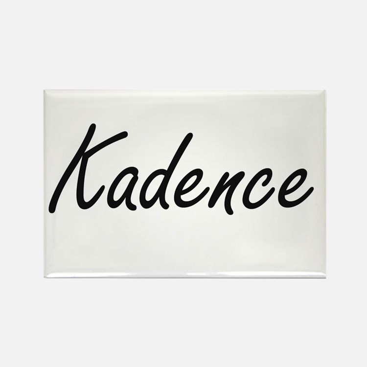 Kadence artistic Name Design Magnets