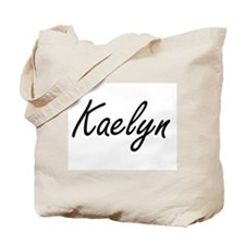 Kaelyn artistic Name Design Tote Bag
