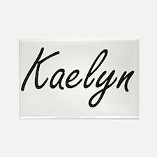 Kaelyn artistic Name Design Magnets