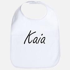 Kaia artistic Name Design Bib