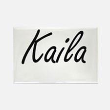 Kaila artistic Name Design Magnets