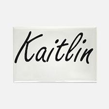 Kaitlin artistic Name Design Magnets