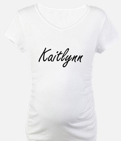 Kaitlynn artistic Name Design Shirt