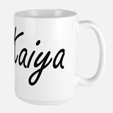 Kaiya artistic Name Design Mugs