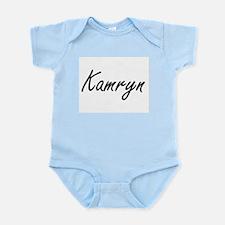 Kamryn artistic Name Design Body Suit