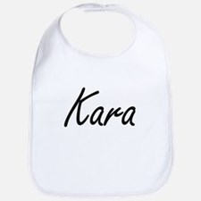 Kara artistic Name Design Bib
