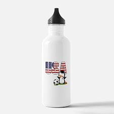 USA Soccer Sports Water Bottle