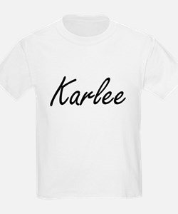 Karlee artistic Name Design T-Shirt