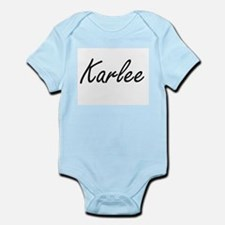 Karlee artistic Name Design Body Suit
