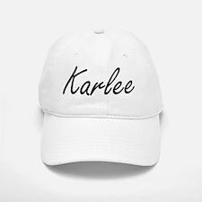 Karlee artistic Name Design Cap