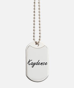 Kaydence artistic Name Design Dog Tags