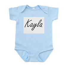 Kayla artistic Name Design Body Suit