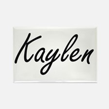 Kaylen artistic Name Design Magnets