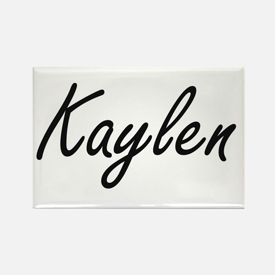 Kaylen artistic Name Design Magnets