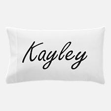 Kayley artistic Name Design Pillow Case