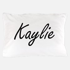 Kaylie artistic Name Design Pillow Case