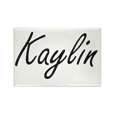 Kaylin artistic Name Design Magnets
